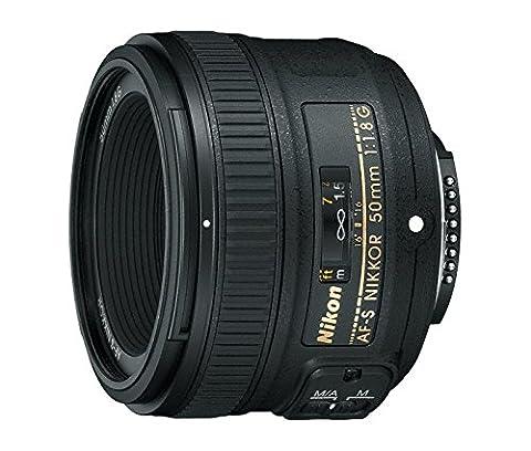 Nikon AF-S FX NIKKOR 50mm f/1.8G Lens with Auto Focus for Nikon DSLR Cameras (Nikon 85 Mm D)