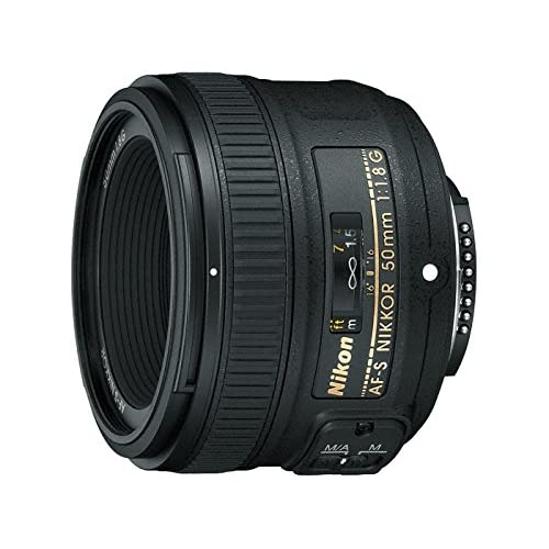 Nikon AF-S Nikkor 50 mm f/1.8G Prime Lens for Nikon DSLR Camera