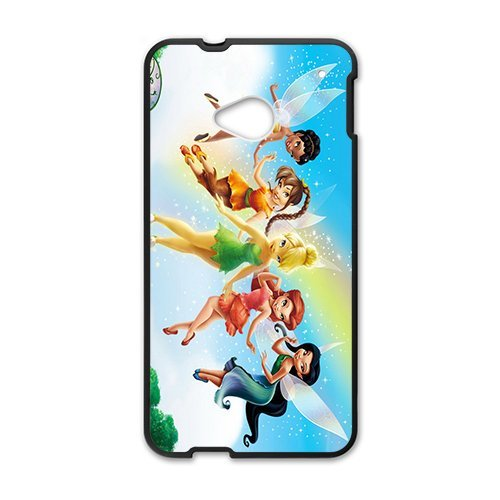 Generic Tinker Bell Design Phone Case for HTC ONE (Htc Wing Solid Case)
