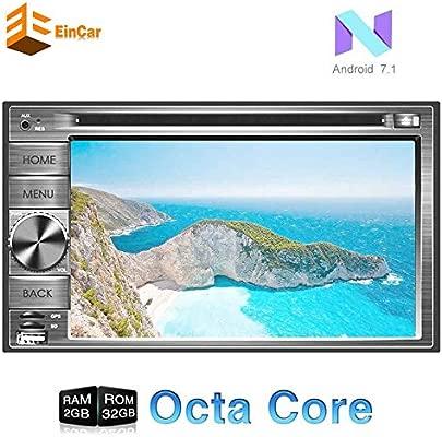 EinCar Pure Android estéreo 7.1 con 6.2 Pantalla táctil Digital ...