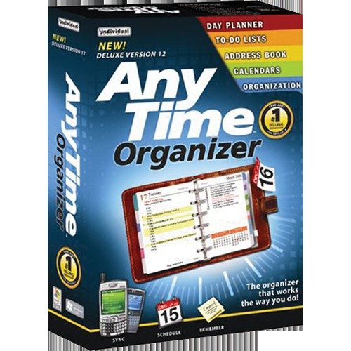 Individual Software 8012984 Anytime Organizer