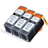 3 Pack Compatible Canon PGI-225 3 Big Black for use with Canon PIXMA iP4820, PIXMA iP4920, PIXMA iX6520, PIXMA MG5120, PIXMA MG5220, PIXMA MG5320, PIXMA MG6120, PIXMA MG6220, PIXMA MG8120, PIXMA MG8120B, PIXMA MG8220, PIXMA MX712, PIXMA MX882, PIXMA MX892. Ink Cartridges for inkjet printers. PGI-525BK © Blake Printing Supply