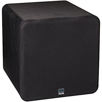 "SVS SB-1000 – 12"", 300 Watt DSP Controlled, Sealed Box Subwoofer (Black Ash)"