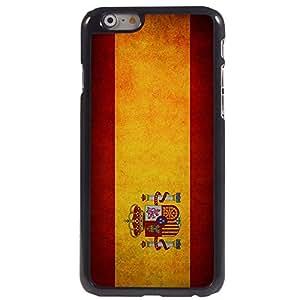 Diseño de la bandera española KARJECS patrón carcasa de aluminio para iPhone 6