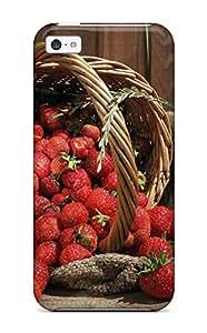 New Arrival Premium Iphone 5c Case(strawberry Fruits)