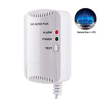 Detector de Gas, Alarma de Gas LPG/natural/ciudad, Sensor De Fugas