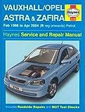 Vauxhall Opel Astra and Zafira Petrol: 98-04 (Service & repair manuals)