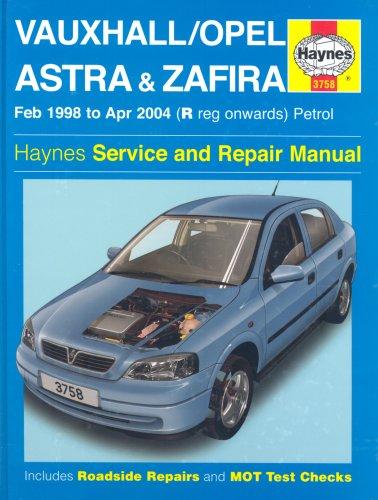 Vauxhall Opel Astra and Zafira Petrol (Anglais) Relié – 27 septembre 2004 A. K. Legg Martynn Randall J H Haynes & Co Ltd 1844251659