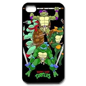 Custom Your Own Teenage Mutant Ninja Turtles iPhone 4/4S Case , personalised Teenage Mutant Ninja Turtles Iphone 4 Cover