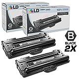 LD Compatible Toner Cartridge Replacement for Samsung SCX-4100D3 (Black, 2-Pack)