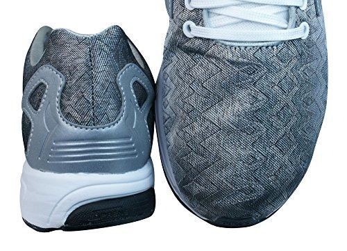 Zapatillas deportivas ZX Flux Tech Supcol Argmet Noiess ADIDAS 44 Hombre