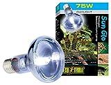 Exo Terra Breeder Basking 4pk--Exo Terra Halogen Basking Spot Lamp 75W
