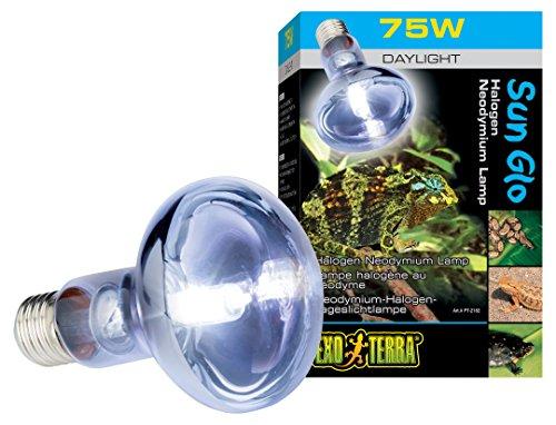 Exo Terra Breeder Basking 4pk Halogen Basking Spot Lamp 75W