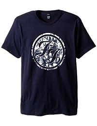 Foo Fighters Mens' FF Logo City Circle T-Shirt (Large)