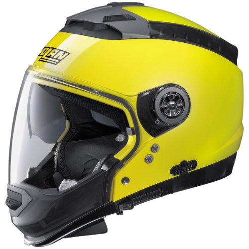 Nolan N44 Hi-Visibility Helmet (Hi-Vis Yellow, Small)