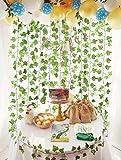 DearHouse 12 Strands Artificial Ivy Leaf Plants