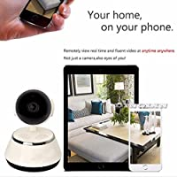 Egmy WiFi Wireless HD Home Security Camera Monitor Surveillance Baby Monitor Night Vision Support Cellphone,Remote Capture, Audio and Video Recording