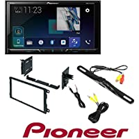Pioneer AVH-600EX In-Dash Receiver DVD Receiver w/ 7 WVGA Display, Bluetooth, SiriusXM Ready and AppRadio Dash Mounting Installation Kit+Night Vision Rear View Backup Color Camera