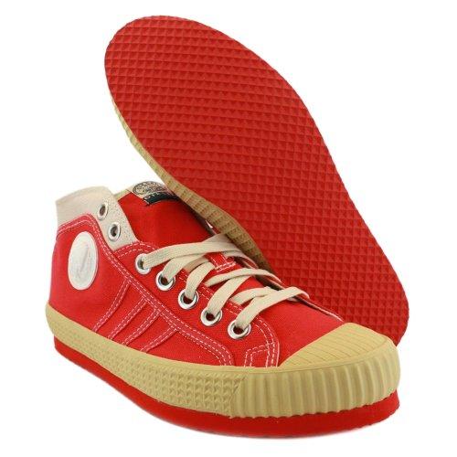 Diesel - Zapatillas de lona para hombre rojo - rojo