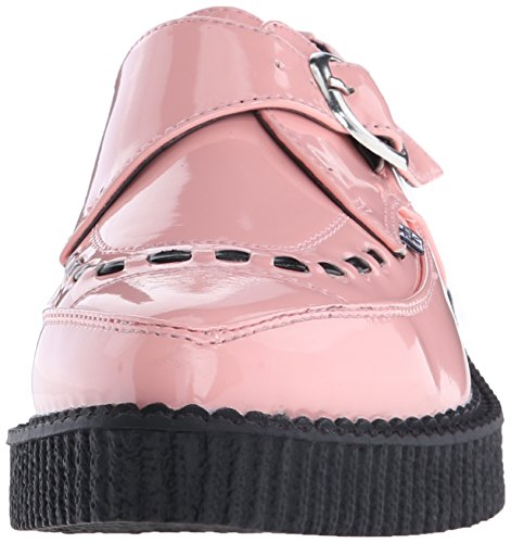 T Patent Peachy Buckle Shoes u Monk Pink k Creeper Pointed XxrXHqa4
