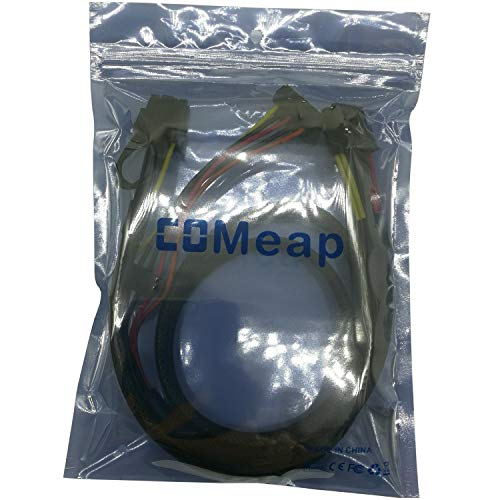 COMeap Motherboard 10 Pin to PCI-E 8 Pin(6+2) SATA IDE Molex