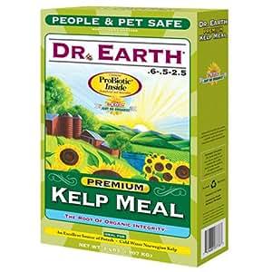 Dr earth inc kelp meal organic fertilizer 2 lb box for Fish meal fertilizer