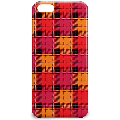 Phone Case For Apple iPhone 5C - Tartan Love Hardshell Slim