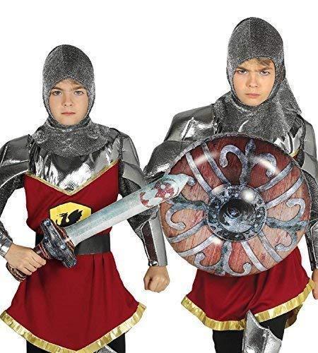 Fancy Me Disfraz de Guerrero de caballero medieval con ...