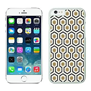 Honeycomb Apple Iphone 6 4.7 Inches Case White Cell Phone Cover