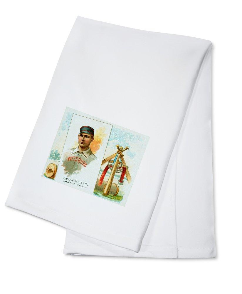 ピッツバーグパイレーツ – Geo。F Miller – 野球カード Cotton Towel LANT-22982-TL B0184BVG7C  Cotton Towel
