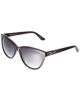 4602e5c6fe6 Amazon.com  Judith Leiber Womens Women s Jl 5016 01 56Mm Sunglasses ...