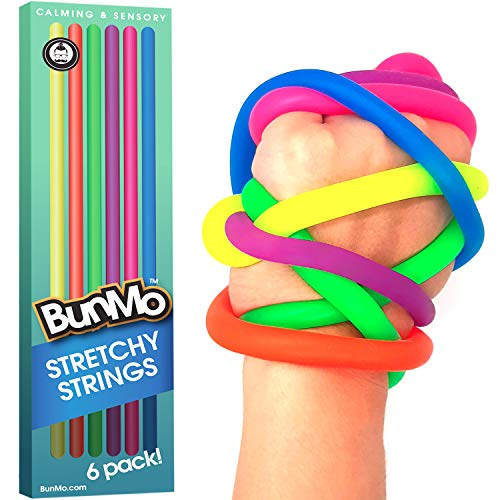BUNMO Fidget Toys for Stress Relief - Stretchy Sensory Toys for Autistic -