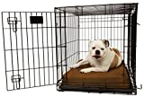 Orthopedic 4'' Dog Crate Pad by Big Barker - 36'' x 24''. Waterproof & Tear Resistant. Thick, Heavy Duty, Tough, Washable Cover. Luxury Orthopedic Support Foam inside. Made in USA. Sized to perfectly fit inside a 36'' x 24'' crate.