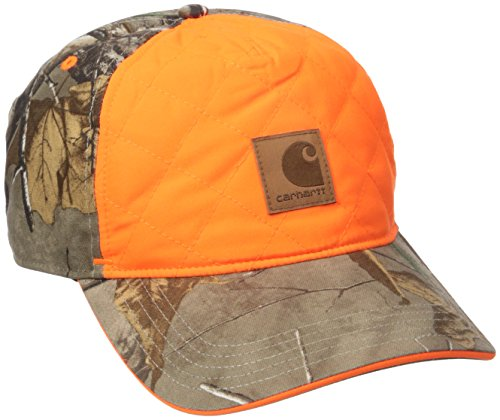 (Carhartt Men's Upland Quilted Cap, Realtree Xtra, One Size)