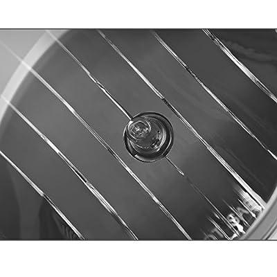 Fog Lights Compatible with 2007-2013 GMC Sierra 1500/2007-2014 Sierra 2500 3500 (OE Style Smoke lens w/ 5202 PS 12V 37.5W Bulbs): Automotive