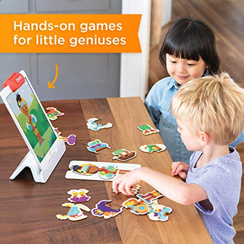 51s7%2BCMGjDL - Osmo - Little Genius Starter Kit for iPad - 4 Hands-On Learning Games - Preschool Ages - Problem Solving & Creativity (Osmo iPad Base Included)