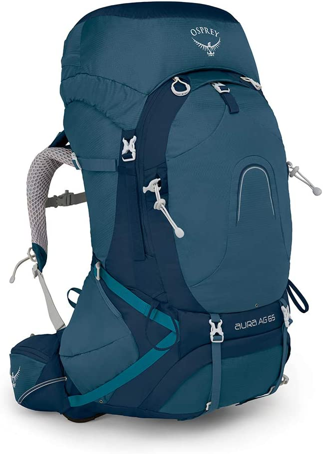Osprey Aura AG 65 Womens Backpacking Pack: Amazon.es: Deportes y ...