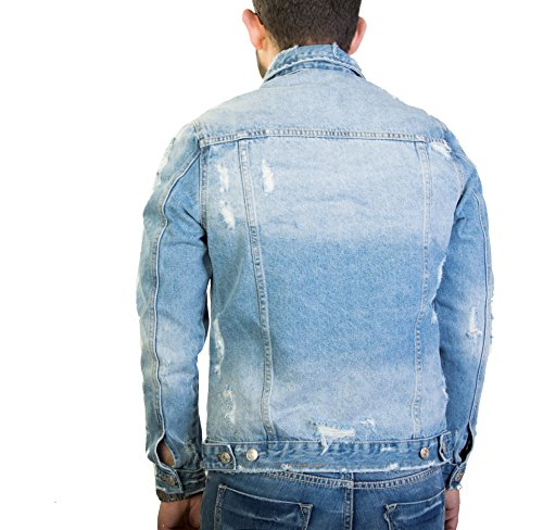 Jeans Antony Uomo In Giacca Morale Slavato SqARYvn
