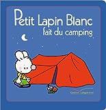 PETIT LAPIN BLANC FAIT DU CAMPING