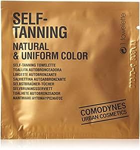 COMODYNES - Auto Bronceado Natural uniforme de color - 8 toallitas autobronceadoras