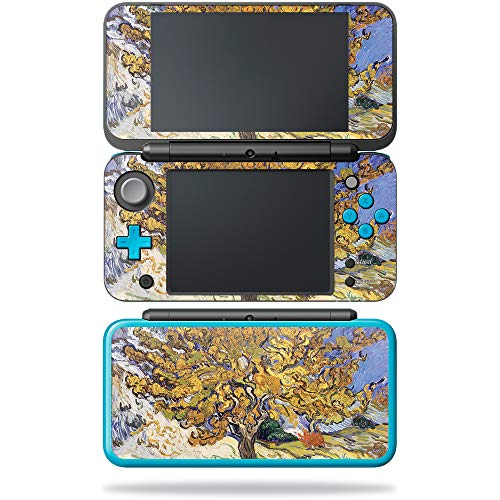 MightySkins Skin Compatible with Nintendo New 2DS XL - Mulberry Tree | Protective, Durable, and Unique Vinyl Decal wrap Cover | Easy to Apply, Remove, and Change Styles | Made ()