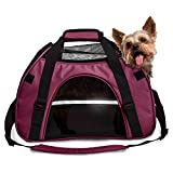 Furhaven Pet Large Pet Tote with Weather Guard, Raspberry Review