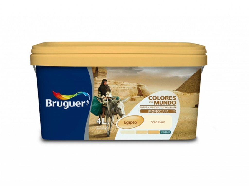 Bruguer M111994 - Pintura plastica colores del mundo egipto suave