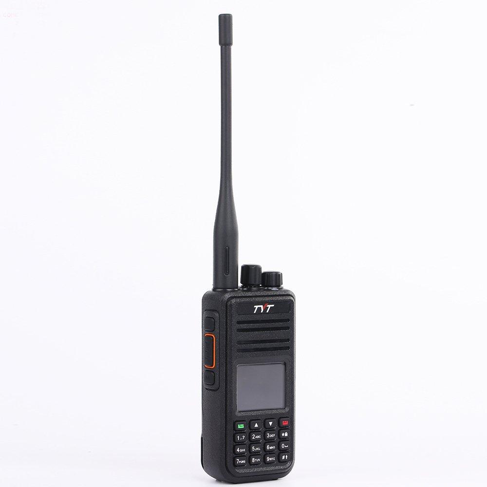 TYT MD-UV380 Dual Band DMR Radio VHF//UHF 136-174Mhz//400-480Mhz Two Way Radio Portable Ham Radio Amateur