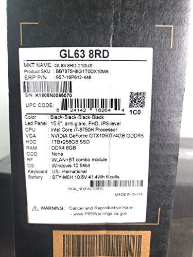 MSI GL63 8RD-210US (GL63 8RD-210US)