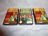 Scarface oil lighter set of 3 orange set