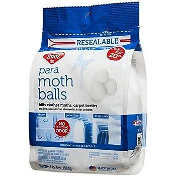 Amazon Com Enoz Para Moth Balls 20 Oz Bag 3 Home