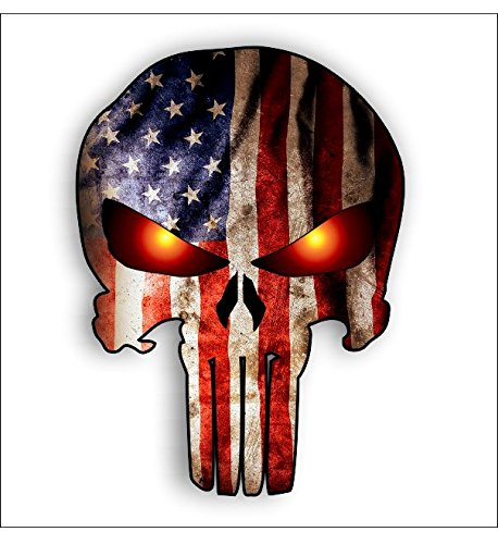 tall Punisher American Glowing Shipping