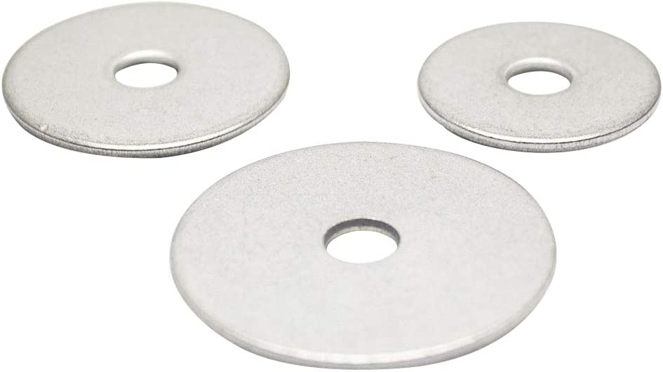 Lot de 2/rondelles de carrossier 4,3/x 12//à 12,5/x 40/inox a2