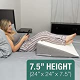 Kӧlbs Bed Wedge Pillow with Memory Foam Top